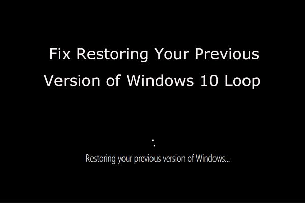 Kā atjaunot iepriekšējo Windows versiju