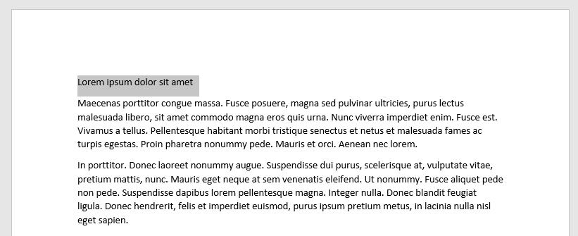 Cómo cambiar el tamaño y la fuente del texto en Word