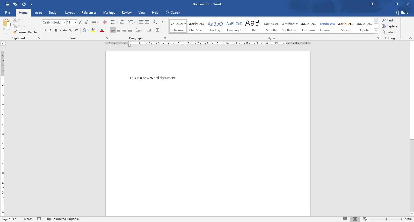 Cómo iniciar un documento de Word