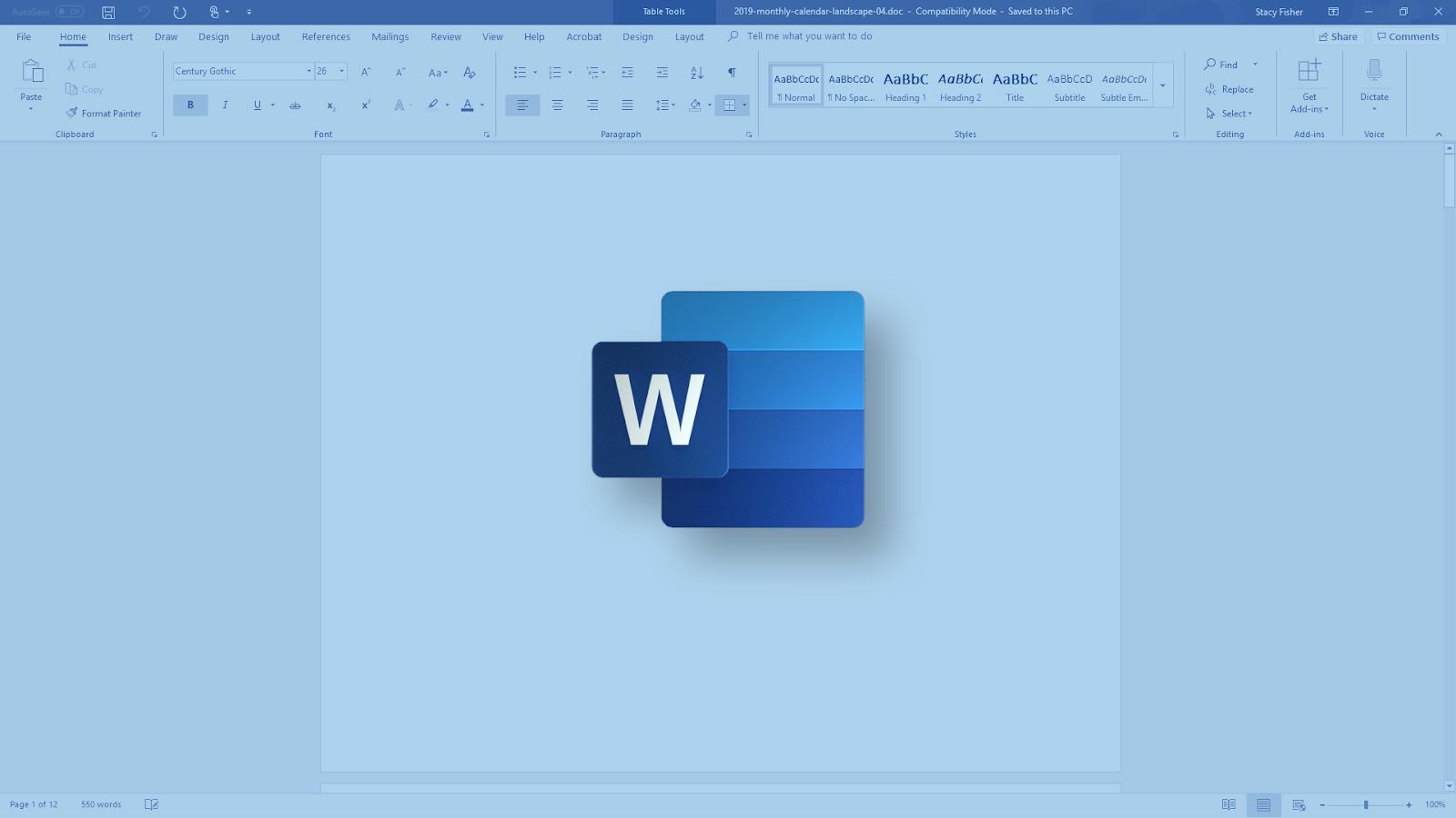 Lembar sontekan Microsoft Office Word