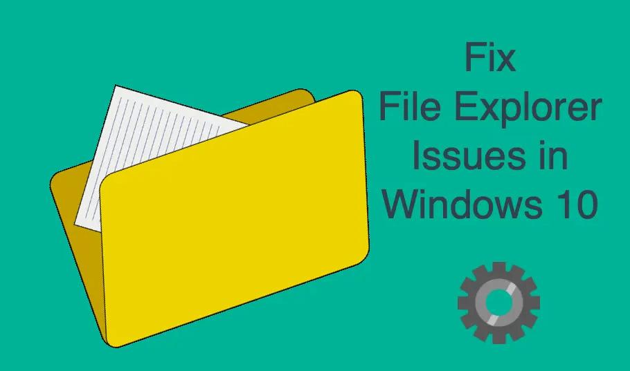 11 métodos de cómo arreglar Windows Explorer sigue fallando