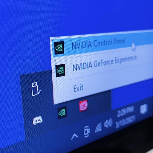 Operētājsistēmā Windows 10 trūkst NVIDIA vadības paneļa