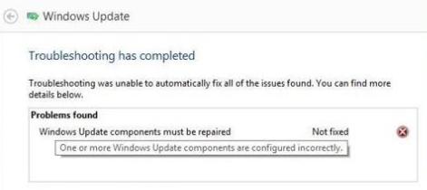 Labot Windows atjaunināšanas komponentus ir jālabo Kļūda sistēmā Windows 10