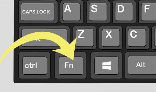 Windows 10'da Fn Tuşuna Basmadan İşlev Tuşlarını Kullanma