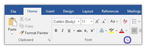 Làm cách nào để thay đổi phông chữ tài liệu mặc định trong Office?