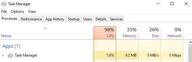 Как да коригирам висока употреба на процесора в Windows 10