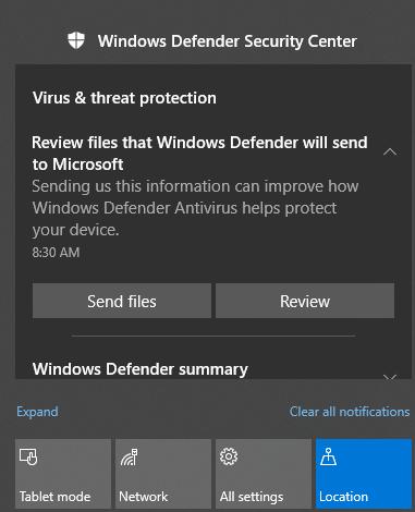 Kuidas parandada Windows 10 märguandeid ei tööta