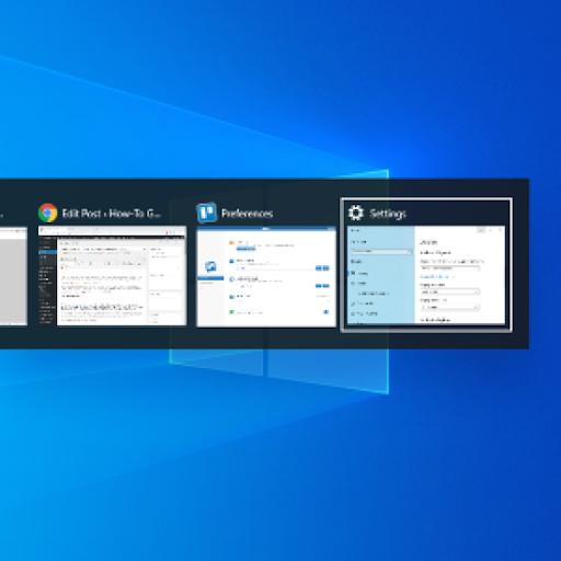 Windows 10'un Sekmelerinin Alt + Tab Görünümünde Gösterilmesinden Nasıl Devre Dışı Bırakılır
