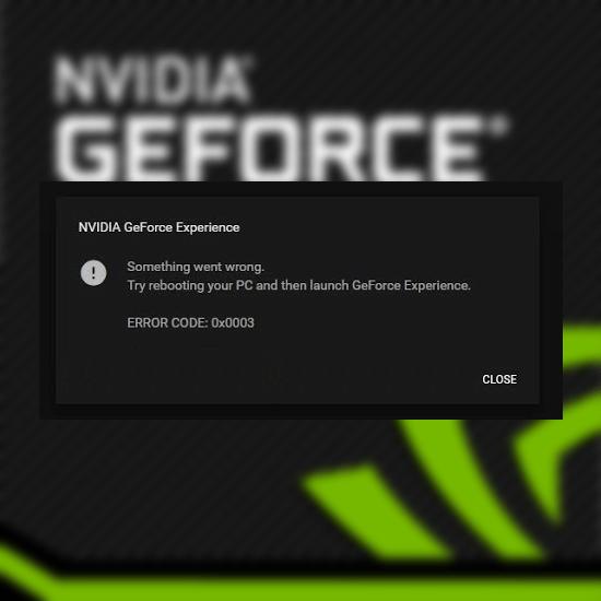 Falta el contenedor de telemetría de Nvidia: cómo corregir el código de error 0x0003