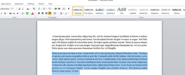 Microsoft Word'de Asılı Girinti Nasıl Oluşturulur