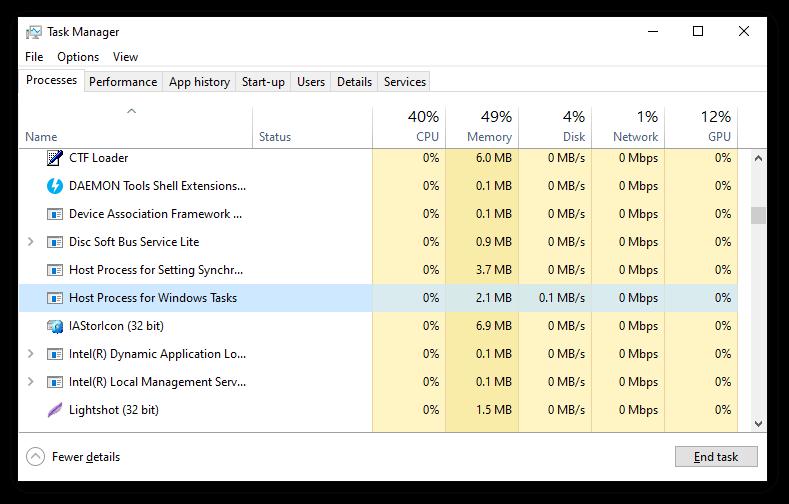 Cara Memperbaiki Proses Host Umum untuk Kesalahan Tugas Windows di Windows 10