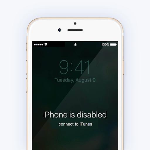 Cómo reparar el iPhone está deshabilitado. Conectar a itunes