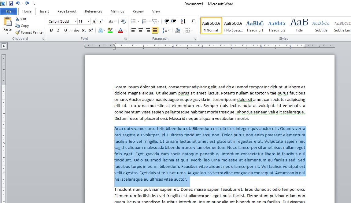 Cómo hacer columnas en Microsoft Word