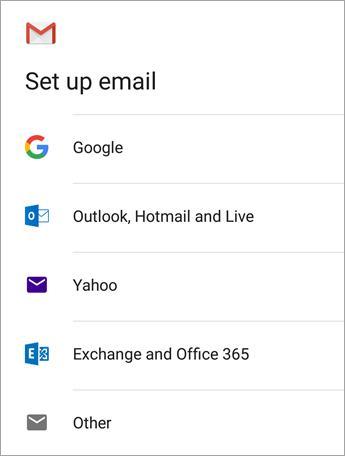 Cómo configurar el correo electrónico en la aplicación Gmail de Android