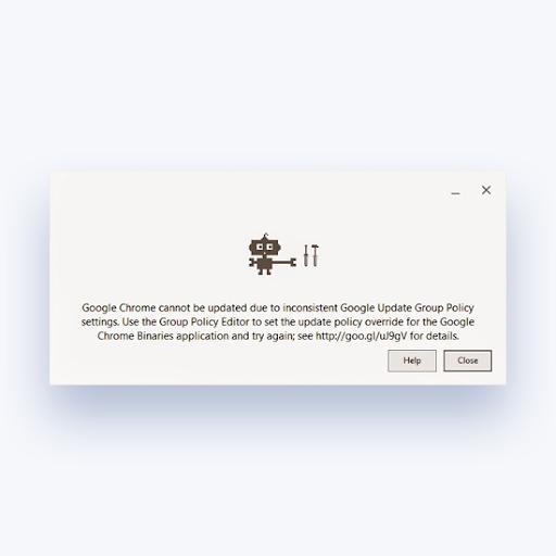 Falló la instalación de Google Chrome en Windows 10 (resuelto)
