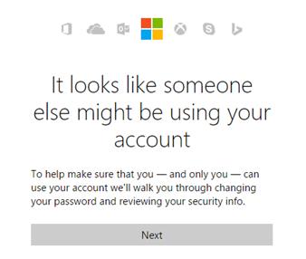 Qué hacer si hay una actividad de inicio de sesión inusual en su cuenta de Microsoft