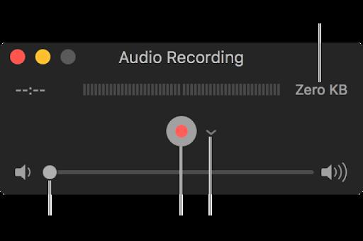 Cómo grabar audio en Mac