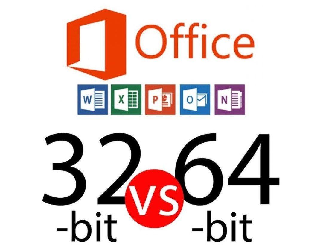 ¿Qué opciones debo elegir de 32 o 64 bits de Microsoft Office?