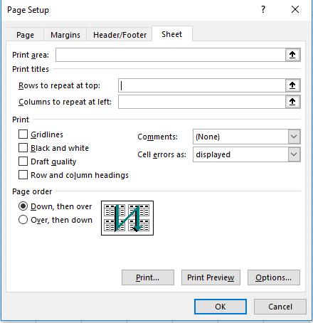 Cómo crear una fila de encabezado de Excel