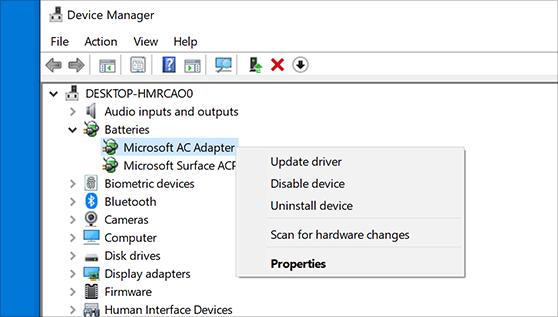 Windows 10에서 장치 드라이버를 업데이트하는 방법