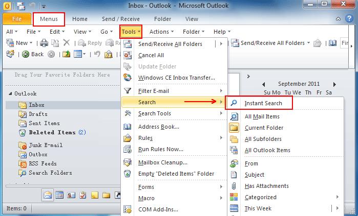 Kuidas otsida kalendriüksusi Microsoft Outlookis