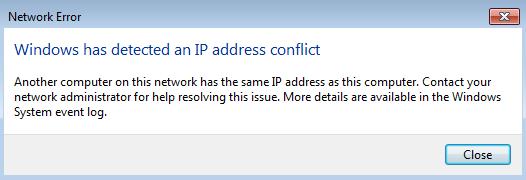 Cách khắc phục lỗi 'Windows đã phát hiện thấy xung đột địa chỉ IP