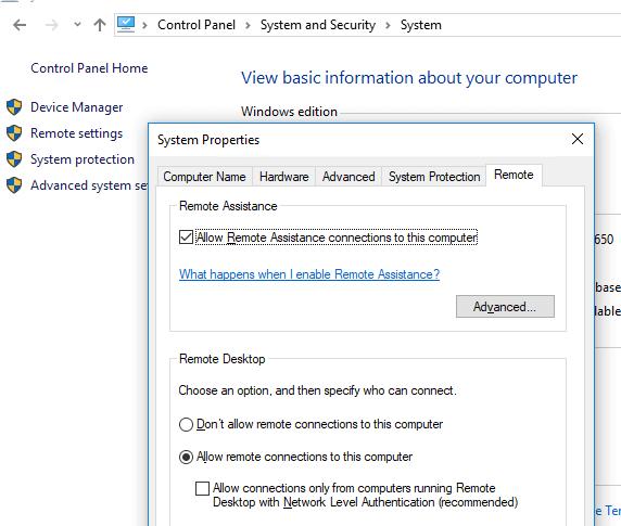Cara Mengaktifkan Desktop Jarak Jauh Di Windows