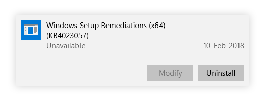 Kas ir Windows iestatīšanas korekcijas?