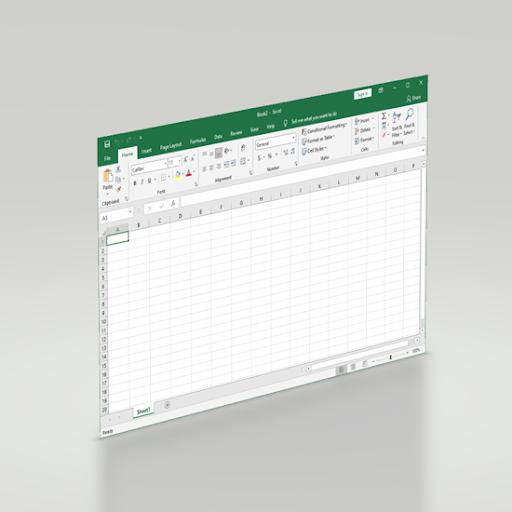 Ruudujoonte printimine Excelis