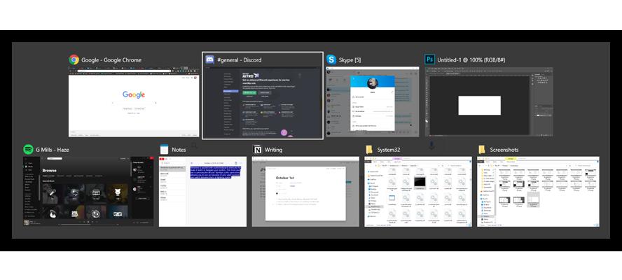 Windows 10 မှာအလုပ်မလုပ်ချင်ဘူးဆိုရင် Alt-Tab Shortcut ကိုဘယ်လိုပြင်ရမလဲ